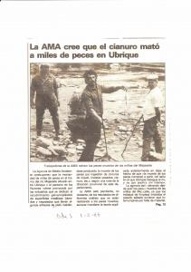 Programa coordinado por la recuperación del río Guadalete
