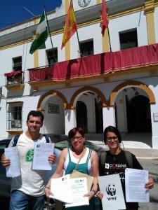 Proyecto urbanístico en las marismas de Trebujena