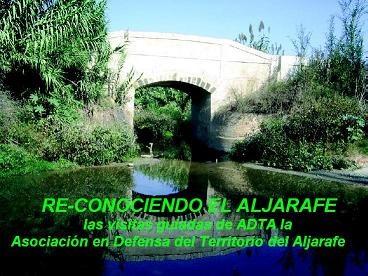 Restauración ambiental del arroyo Riopudio en la comarca del Aljarafe, junto a Sevilla