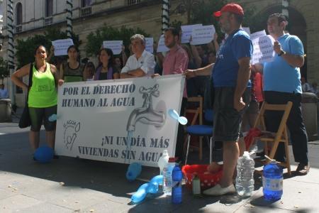 La lucha por el derecho humano al agua en Sevilla