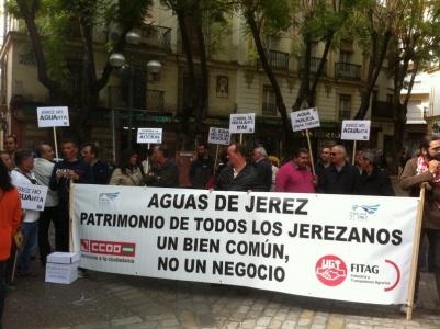 Privatización del servicio de gestión del agua en Jerez de la Frontera