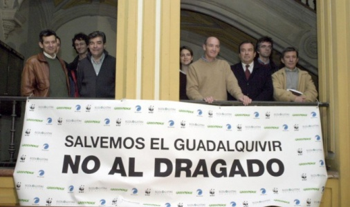 Dragado del estuario del Guadalquivir